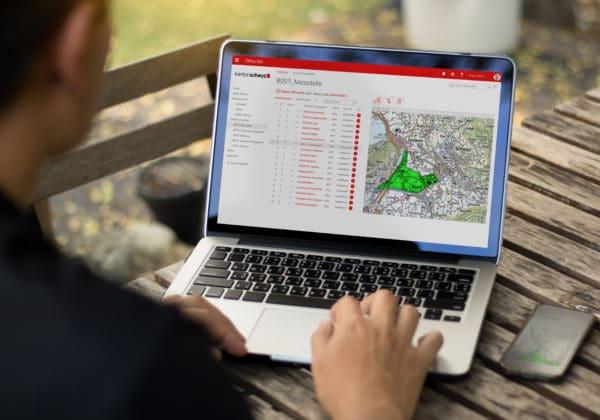 WebPoint zum einfachen Erfassen von Geoinformation